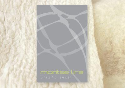 Montserrat Lira, diseño textil