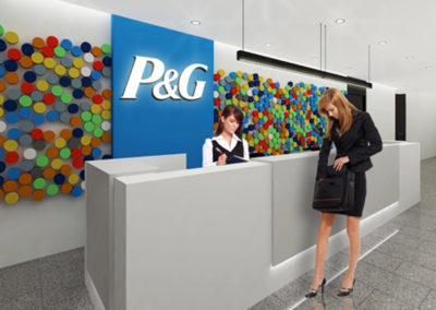 Interior Architecture for P&G Venezuela